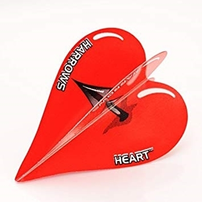 Image de 40065-Set of 3 Flights Heart Arrow