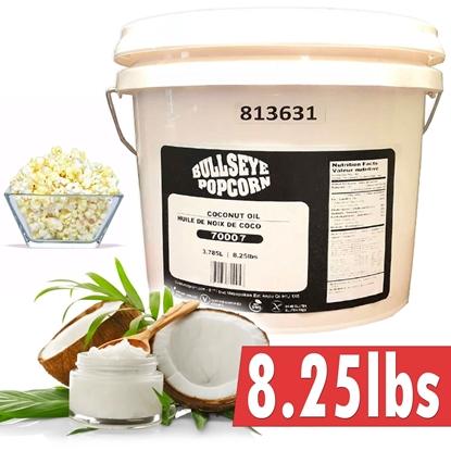 Image de 1 gallon huile de coconut BLANCHE 3.78litres