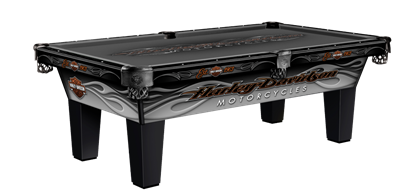 Image de Ol-Harley-Davidson-L Pool Table
