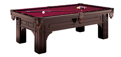 Picture of Ol-Remington pool table