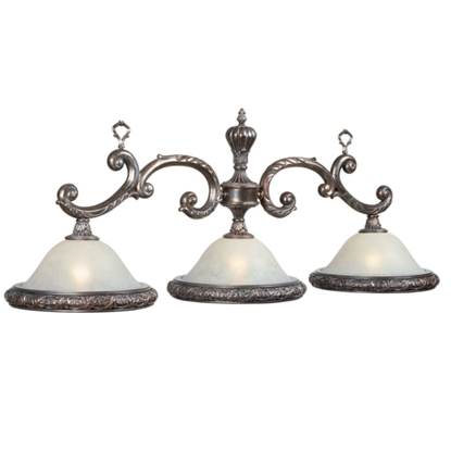 Image de LAMPE DE BILLARD TRADITIONNELLE TRIPLE 55'