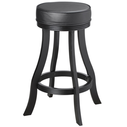 Picture of BSTL BLK | BACKLESS BARSTOOL - BLACK