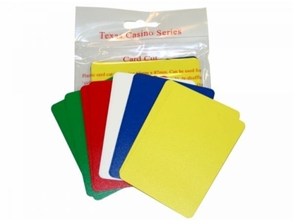 Picture of 10002 - Packs of 10 cut cards 5 colors