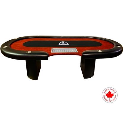 Image de Table de poker sur mesure Croupier Standard