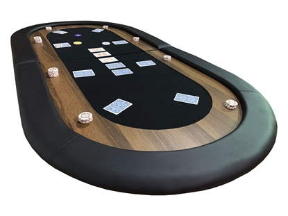 Picture of 14304-Oval poker table top - 8 players